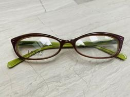 Bevel Check Specs Sea Green Pink Japan Eyeglass Spectacles F