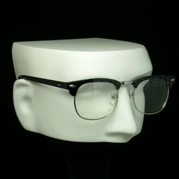 Clear lens glasses men women new nerd geek fake retro vintag