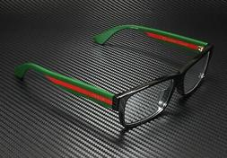 Gucci GG0344OA Eyeglasses 001 Black/Multicolor 56 mm