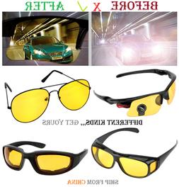 HD NIGHT Vision Glasses Car Driver Goggles Eyeglass driving