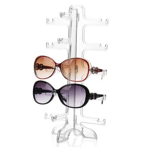5 layers glasses eyeglasses sunglasses show stand