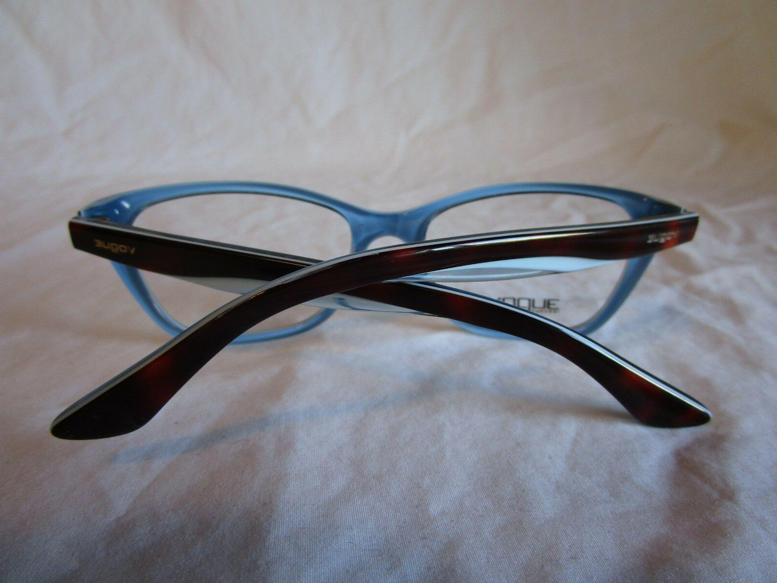 VOGUE EYEGLASS TOP ON AZURE BLUE NEW AUTHENTIC