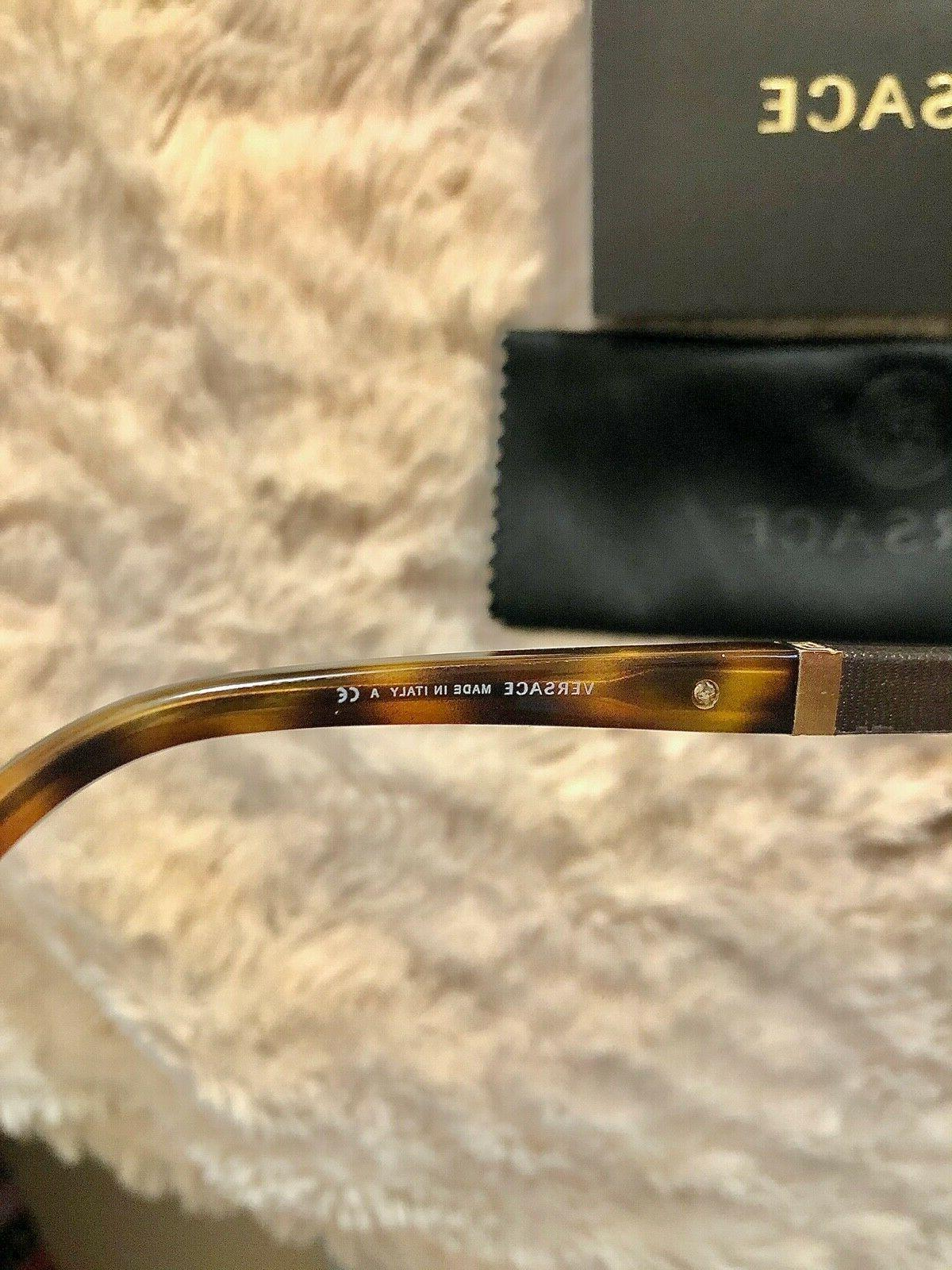 Versace Frame Model 1233-Q New with Tortoise