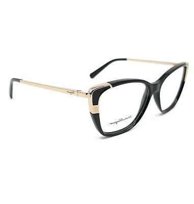eyeglasses sf2811 001 black rectangle women 54x14x140