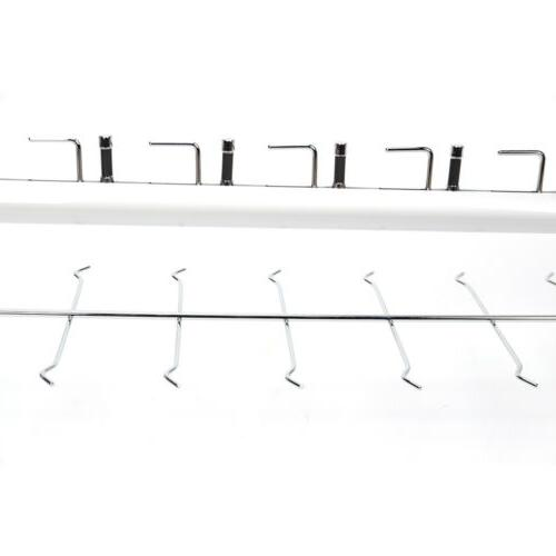 18 Silver Frame Rack Display Stand Show