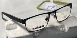 Ironman Men's eyeglasses Frame Prescription Black/Green im