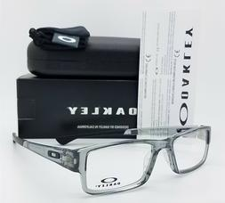 New Authentic OAKLEY Airdrop Eyeglasses Grey Shadow 53mm OX8