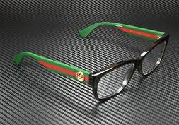 New Gucci GG 0278-O 012 Havana Women's Authentic Eyeglasses