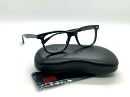 NEW Ray-Ban OPTICAL ORX7047 5196 BLACK EYEGLASSES FRAME 56-1
