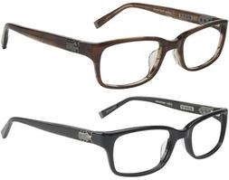 John Varvatos Optical Men's Classic Rectangular Eyeglass Fra