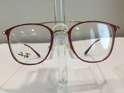 RayBan RB6377 Women's Metal Eyeglass Frame 2910 Red 50-21 NE